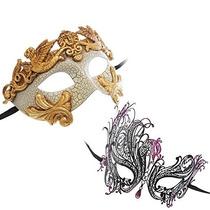 Romano Emperador Griego De La Máscara De La Serie Gold Mask