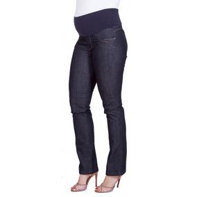Calça Jeans Gestante Claudia Reta