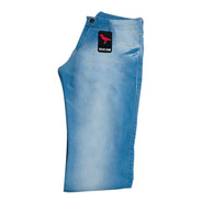 Calça Jeans  Masculina Plus Size Slim / Grande Elastano