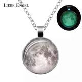 Collar Luna Fosforescente,colgante,unisex,regalo,importado b09e7cbf57