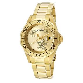 ff140beaf25 Relogio Invicta Feminino Ouro 18 - Relógios no Mercado Livre Brasil