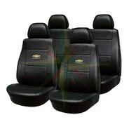 Funda Cubre Asiento Cuero Chevrolet Agile Corsa C/ Respaldo Trasero Repartido ( Juego Completo )