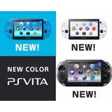 Consola Sony Ps Vita Slim Negro Y Azul Nuevo