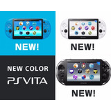 Consola Sony Ps Vita Slim Blanco Negro Azul Nuevo