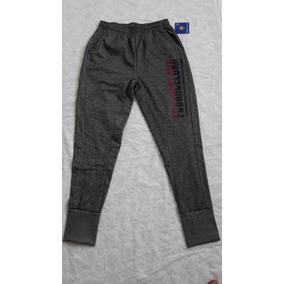Pants Para Hombre Barcelona Gris Oficial - M (mediano)
