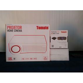 Projetor Data Show De Led 3000 Lumens Mpr-2002 + Tv Box