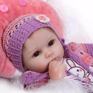 Bebê Boneca Reborn Realista Promoção Barato, 40cm+acessórios