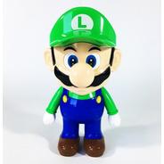 Lampara Mesa Luz Led Mario Luigi Bros Usb