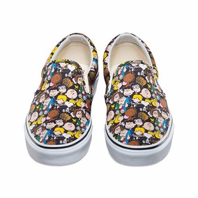 Tenis Vans Slip-on Peanuts The Gang Snoopy Charlie Brown