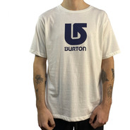 Remera Burton Mc Logo Vertical  Classic