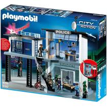 Playmobil City Action Comisaria De Policia Con Alarma 5182