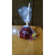 Manzanas Cubiertas De Chamoy Y Miguelito O De Chocolate $9