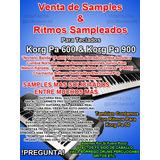 Ritmos & Samplestecladistascumbias & Mas Korg Pa 50,600,900