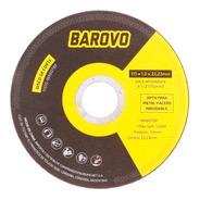 Disco Corte Barovo 4 1/2  Espesor 1 Mm 115 Mm Metal Acero