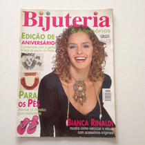 Revista Bijuteria & Acessórios Bianca Rinaldi Chinelos N°36