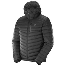 Campera De Pluma Salomon - Halo Hooded C/ Capucha - Hombre