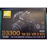 Nikon D3300 Lente 18 55 Vr Nuevo En Caja