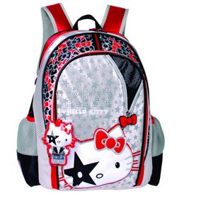 Mochila Escolar Hello Kitty Kiss - Is30251hk