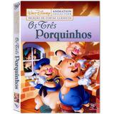 Os Tres Porquinhos (1933) Disney Dvd Original Novo Lacrado