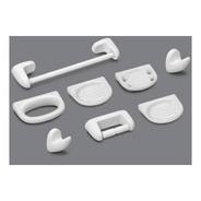 Kit Accesorios Baño De 8 Piezas Pringles Porcelana