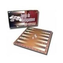 Backgammon Piezas De Madera Y Tablero Plegado Marca Bisonte