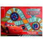 Educando Juego De Mesa Cars Super Carrera Con 2 Ruletas Auto