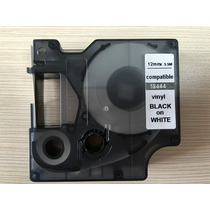 Fita P/ Rotuladora Portátil 3m Pl 100 Vinil 12mm 18444 Dymo