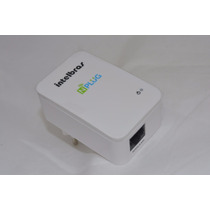 Repetidor De Sinal Wifi Wireless Intelbras Nplug N150 Nfe