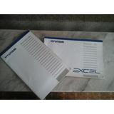 Manual Original Hyundai Excel 1993 93 L, Ls, Gl, Gls