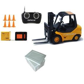 Empilhadeira De Controle Remoto Caminhão Brinquedo Eletrônic
