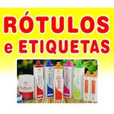 Rótulos E Etiquetas - Personalizadas - Resistente A Água