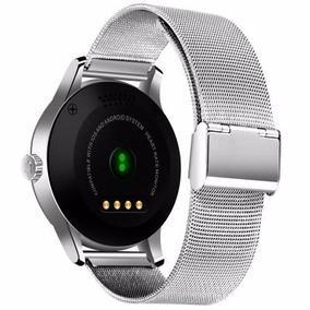 Reloj Smartwatch Bluetooth Smart Monitor De K88h Acero Inox