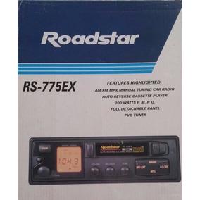 Auto Rádio E Toca Fitas Roadstar Rs-775ex Novo Na Caixa Raro