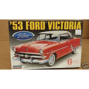 Ford Victoria 1953 Lindberg Esc 1/25 Modelo Nuevo