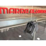 Escuadra E70 Paño Fijo Puerta Accesorios Perfiles Alumio