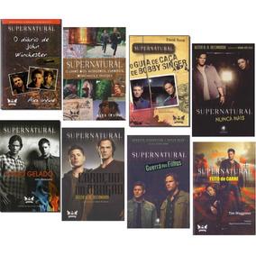 Kit Supernatural (8 Livros)