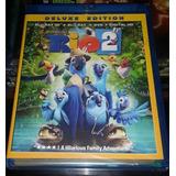 Rio 2 Edición Deluxe Bluray/dvd/3d Nuevo Sellado