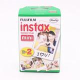 Fuji Película Instax Twin Pack 20 Placas Mini 8