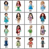 Muñecas Disney Store Animators 2017 Colección Varios Modelos