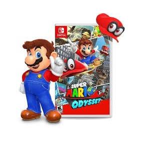 Super Mario Odyssey Novo Midia Fisica Nint Switch Pronta Ent
