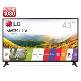 Smart Tv Led 43lj5550 Webos 3.5 43 Full Hd Wi-fi Preto - Lg