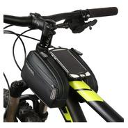 Bolso Bicicleta Porta Celular Delantero 2 Alforjas Universal