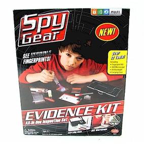 Spy Gear Kit De Evidencias Kreisel Nuevos