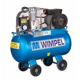 Compressor Mp 2,6 Pés³ Motor 1hp 125lb Wimpel