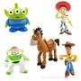 Lote X 5 Personajes Figuras Toy Story De Goma Adorno Torta