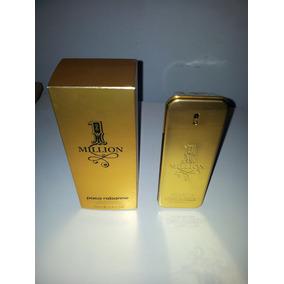 Frasco Vacío Con Caja Perfume Paco Rabanne 100ml One Millon