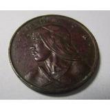 Antigua Moneda Panama 1 Centesimo 1961 Urraca