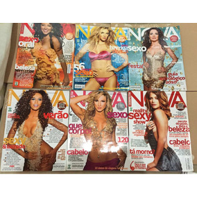 Kit 10 Revistas Nova Cosmopolitan/ Boa Forma/ Womens Health