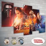 Cuadros De Star Wars Impreso En Ecocuero O Canvas