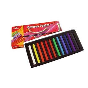 Stafford Estuche De Colores Pastel Para Pintar Difuminar 12p